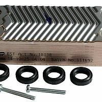 Теплообмінник вторинний (14 пластин) Viessmann Vitopend 100 WH1B 30 кВт 7825534