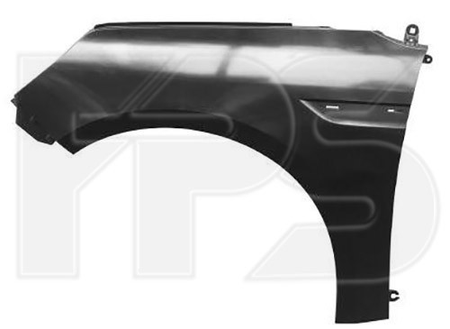 Крило переднє праве Renault Megane '16- (FPS) 631001203R