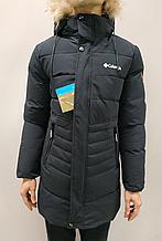 Куртка чоловіча Columbia т. синя
