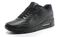 Кроссовки мужские Nike Air Max 90 VT Tweed черные кожаные