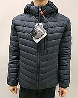 Куртка мужская NORTFOLKт. синяя, фото 1
