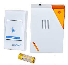 Бездротовий дверний дзвінок Luckarm Intelligent D9688 жовтий