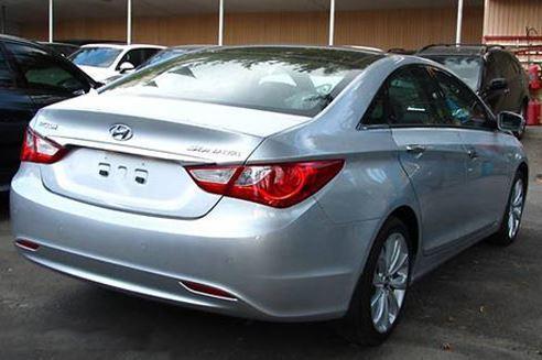 Підкрилок задній (задня частина) лівий Hyundai Sonata YF '10-14 (FPS)