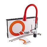 Смеситель для кухни с рефлекторным изливом Qtap Spring CRR 007F-1, фото 5