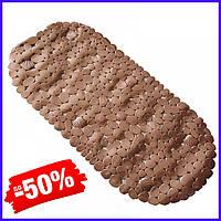 Коврик Bathlux Stone 40027 антискользящий резиновый на пол в ванную и душевую кабину 69х35 см