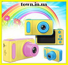Детский цифровой фотоаппарат с экраном. Фотокамера для детей smart kids camera