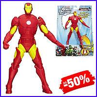 Игровая подвижная фигурка супергерой Hasbro Железный Человек I-ManAvengers AssembleSqueezeLegs детская игрушка