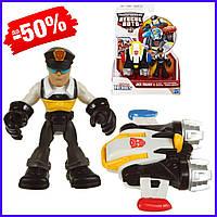 Детская игровая фигурка Hasbro Джек Трекер с реактивным ранцем Боты спасатели Billy Jet Pack Rescue Bots
