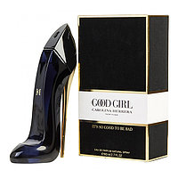 Женские духи Carolina Herrera Good Girl 80ml (Парфюм Каролина Эррера Гуд Герл) Туфелька Духи черная туфелька