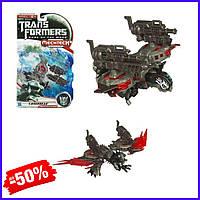 Игровая фигурка Робот Трансформер Hasbro шпион Лазербик Laserbeak, MechTech, Deluxe игрушка для детей