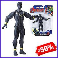 Игровая фигурка супергерой Hasbro Черная Пантера Мстители Black Panther Avengers Basic игрушка для детей