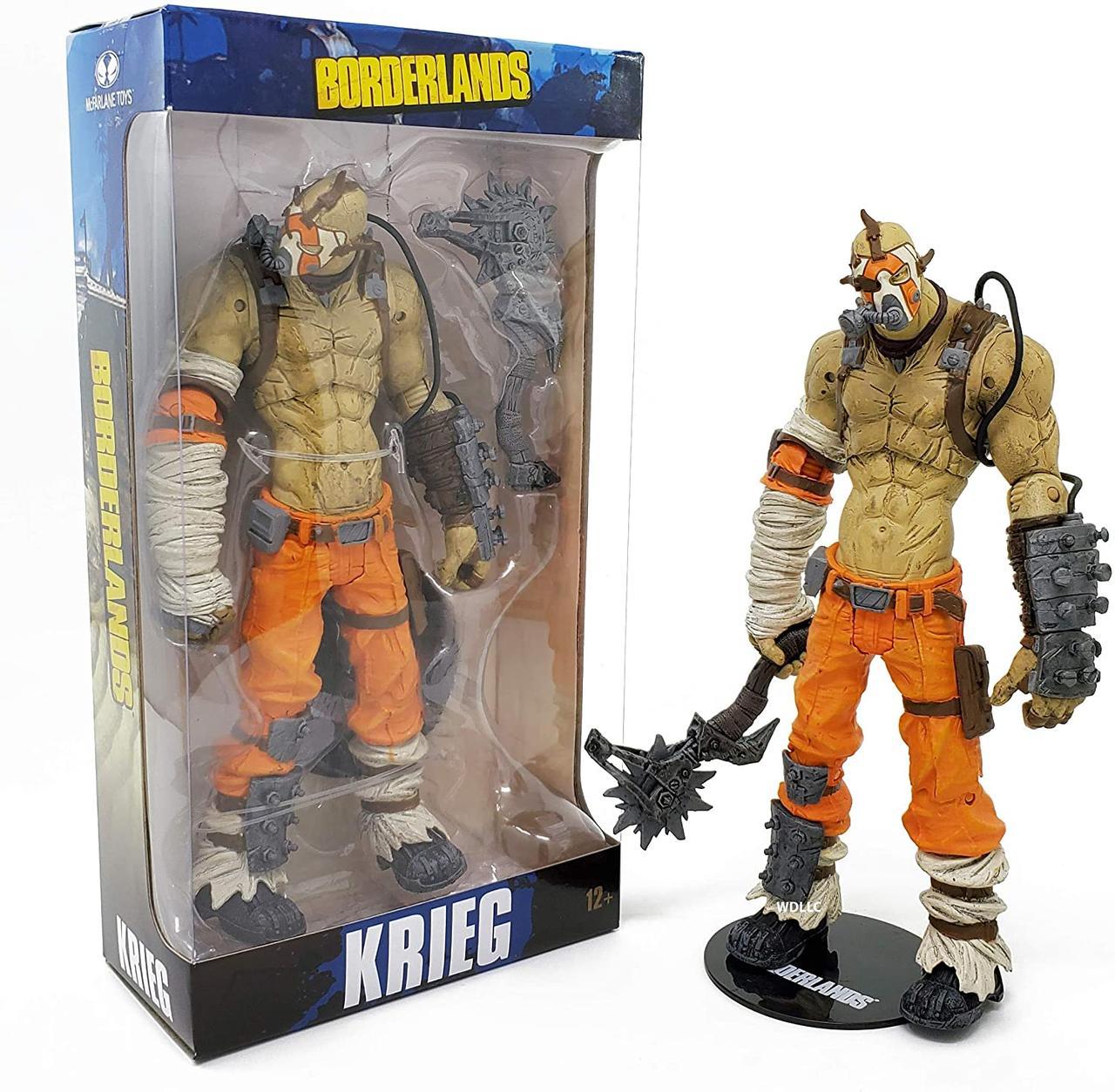 Фигурка бандита Крига McFarlane Toys Borderlands  Krieg Action Figure