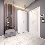 Шкаф распашной 2 двери, платяной с полками, шкаф в прихожую, в спальню S-10, фото 3