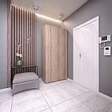 Шкаф распашной 2 двери, платяной с полками, шкаф в прихожую, в спальню S-10, фото 4