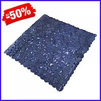 Коврик Bathlux Fuegos artificiales 40287 антискользящий резиновый на пол в ванную и душевую кабину 53х53 см