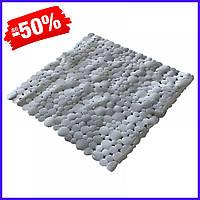 Коврик Bathlux Hojas 40261 антискользящий резиновый на пол в ванную и душевую кабину 53х53 см