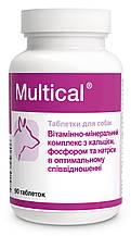 Dolfos Multical Мультикаль витаминно-минеральный комплекс для собак 90 табл.