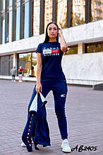 Женский спортивный костюм тройка:кофта,футболка и штаны.