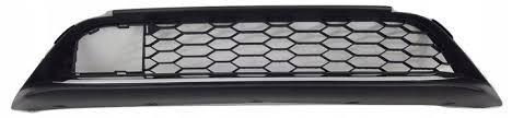 Решетка бампера передняя средняя Honda Accord 9 '15-17 (Tempest)