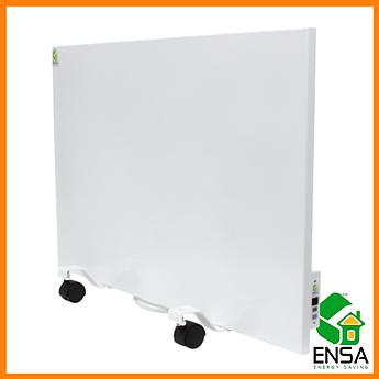 Панельный обогреватель ENSA P500Т с терморегулятором, конвектор электрический бытовой 750х500х15мм, 500 Вт