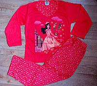 Пижама подростковая, трикотажная для девочки Венгрия. 140 р, фото 1