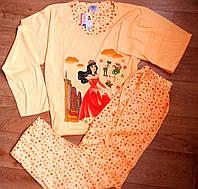 Пижама подростковая, трикотажная для девочки Венгрия. 164 р, фото 1