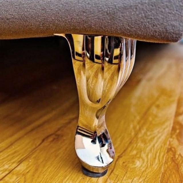 Резная мебельная опора металлическая