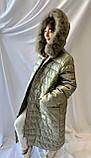 Зимнее удлинённое пальто ZLLY, фото 2