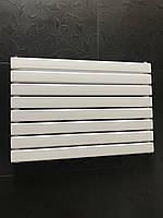 Горизонтальный радиатор дизайнерский  Livorno II G 8/800 Белый матовый 544*800