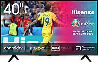 Телевизор SMART 40'' HISENSE 40B6700PA, телевизор 40 диагональ, телевизор для кухни, Led телевизор 40