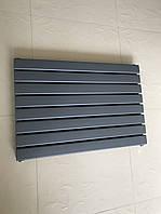 Горизонтальний радіатор дизайнерський Livorno II G 8/800 антрацит матовий 544*800, фото 1