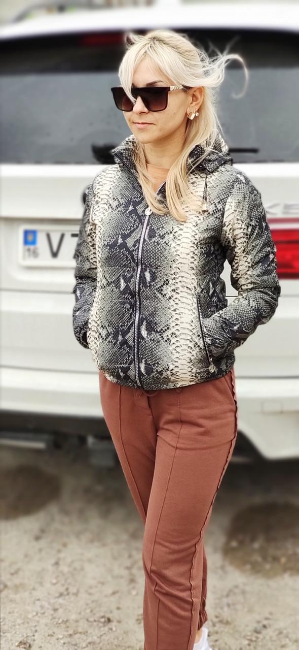 Подростковая куртка с капюшоном