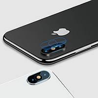 Защитное стекло на камеру для Apple iPhone X / XS, фото 1