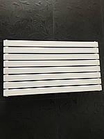Горизонтальний радіатор дизайнерський Livorno G 8/1000 Білий матовий 544*1000, фото 1