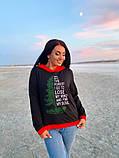 Батник тепла кофта жіноча з капюшоном тканина двухнить розмір: 50-52,54-56, фото 2