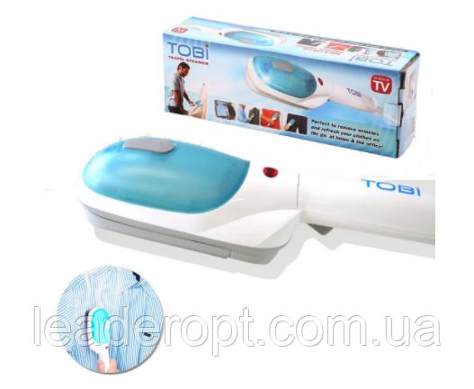 ОПТ Ручний відпарювач парова праска щітка Tobi Travel Steamer 2078 2 функції відпарювання та прасування опт