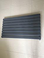 Горизонтальный радиатор дизайнерский  Livorno G 8/1000 антрацит матовый 544*1000, фото 1