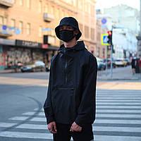 Анорак мужской черный от брнеда ТУР Шадоу (Shadow) размер: S, M, L, XL, XXL