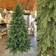 Элитная зеленая 2.5м литая елка искусственная ель литая