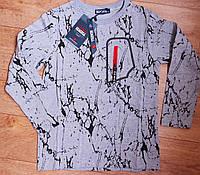 Подростковый реглан, футболка  утепленная для мальчика Венгрия 14 р, фото 1