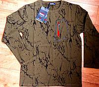 Подростковый реглан, футболка  утепленная для мальчика Венгрия 16 р, фото 1