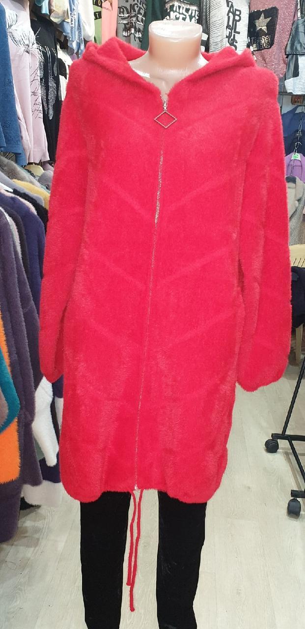 Куртка-кофта альпака , р.50-56, разные цвета