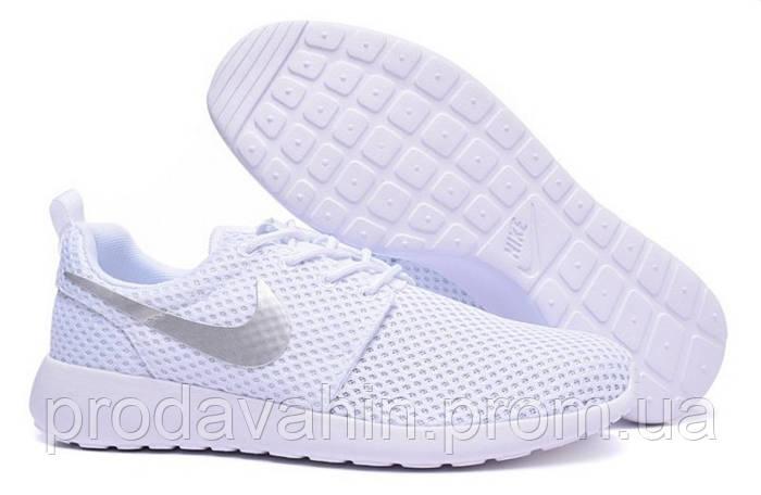 6d79d0375330 Женские белые кроссовки Nike Roshe Run II. кроссовки женские найк роше,  женские кроссовки