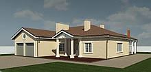 Готовый проект жилого дома К30