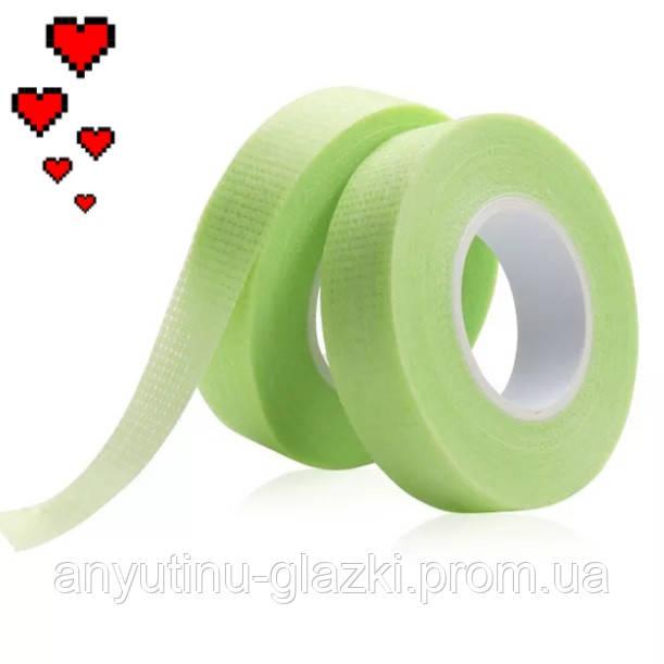 Зеленый дышащий слезоточивый скотч для изоляции нижних ресниц