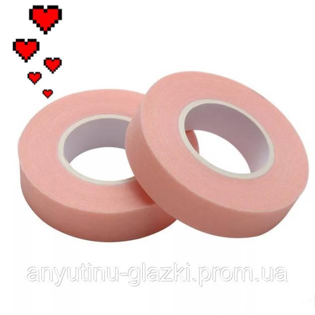 Розовый дышащий слезоточивый скотч для изоляции нижних ресниц