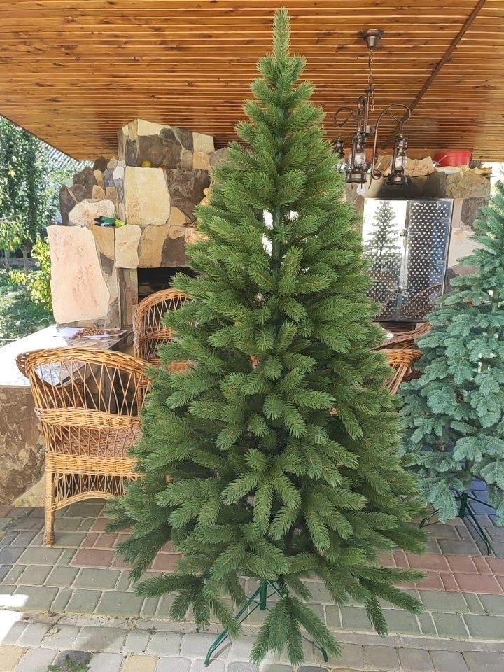 Буковельская зеленая 1.8м литая елка искусственная ели литые