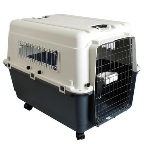 Переноска для собак 100*67*75 см Croci VAGABOND IATA №7. Колеса + 2 поилки