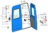2705-6305330 Тяга выключения привода замка двери ГАЗ 2705, 3302 ГАЗЕЛЬ (покупн. ГАЗ), фото 2