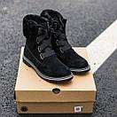 Женские угги Ugg boot Fur Black, фото 2